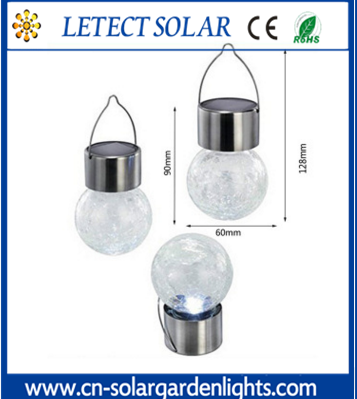 Coloured Solar Garden Lights